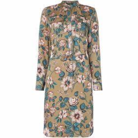 Lauren by Ralph Lauren Raisa tiered floral dress