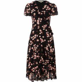 MICHAEL Michael Kors Ruffle wrap dress