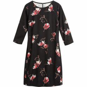 Sandwich Autumn flower print dress