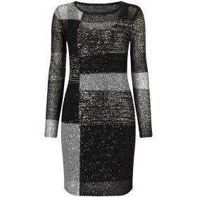 Phase Eight Juana Blocked Sequin Dress