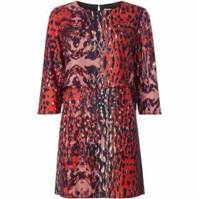 Twist and Tango Sasha leopard print dress
