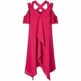 Adrianna Papell Sleeveless Tiered Dress