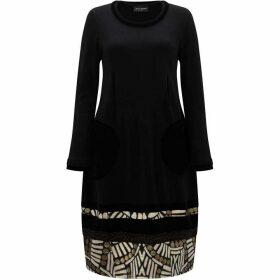 James Lakeland Jacquard Pattern Hem Dress