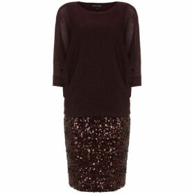 Phase Eight Geonna Sequin Knit Dress