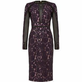 Damsel in a Dress Dalia Lace Panel Dress