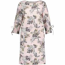 Betty Barclay Leaf Print Dress