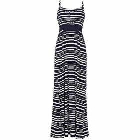 Yumi Nautical Stripe Jersey Maxi Dress