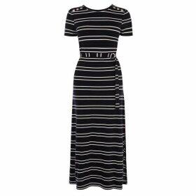 Karen Millen Striped Maxi Dress