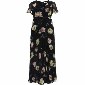 Studio 8 Megan Floral Pleated Maxi Dress
