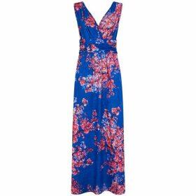 HotSquash V Neck Maxi Dress in CoolFresh