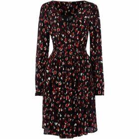 Vero Moda Sabby Midi Long Sleeved Wrap Dress