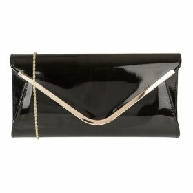 Lotus Shoes Sommerton Patent Clutch Bag