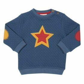Kite Toddler Quilted Star Sweatshirt