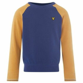 Lyle and Scott Reverse Texture Raglan Sweatshirt