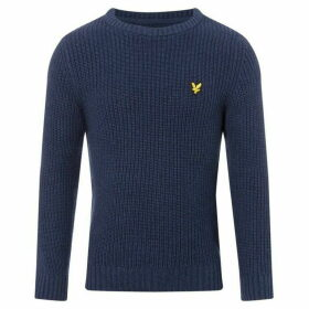 Lyle and Scott Logo Crew Neck Knitted Jumper