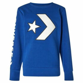 Converse Applique Star Chevron Sweatshirt