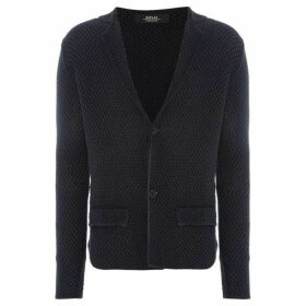 Replay Cotton Cardigan With Lapels