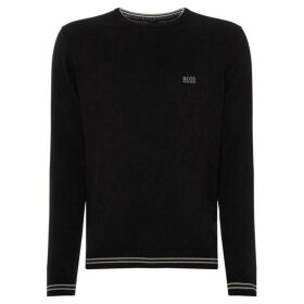 Boss Rimex Cotton Stretch Crew Neck Jumper