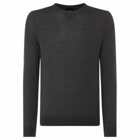 Armani Exchange Sweat Detail Crew Neck Jumper