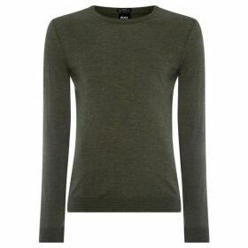 Boss Leno-P Merino Crew Neck Jumper