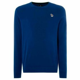 PS by Paul Smith Zebra Crew Neck Jumper