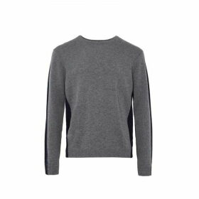 French Connection Fisherman Wool Block Basic Jumper
