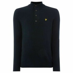 Lyle and Scott quarter Zip Funnel Neck Jumper