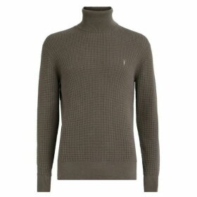 All Saints Wells Roll Neck Jumper