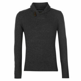 Howick Greenwich Lambswool Shaw Neck Jumper