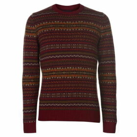 Howick Murray Lambswool Fairisle Jumper