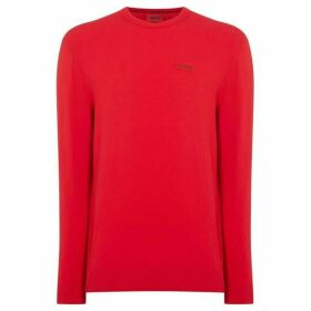 Hugo San Claudio Crew Neck Knitted Jumper