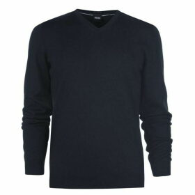 Boss Hugo Mens Baram-L Regular Merino Jumper
