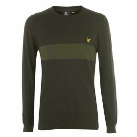 Lyle and Scott Chest Stripe Jumper
