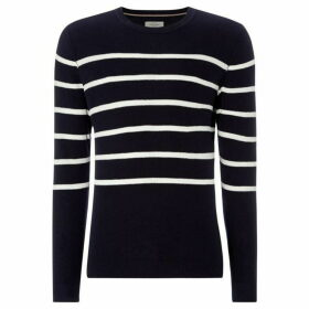 Jack and Jones Stripe Whisper Knit Jumper