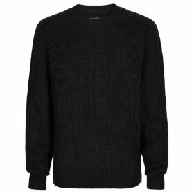 All Saints Hiren crew neck jumper