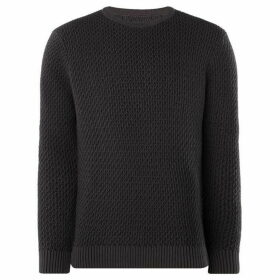 Label Lab Harris Plated Crew Neck Jumper