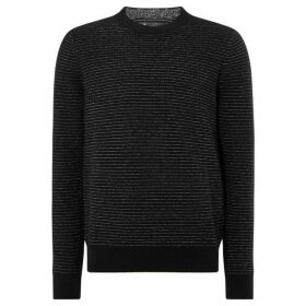 Label Lab Atik Space Dye Crew Neck Jumper