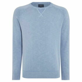 Criminal Burnley Washed Raglan Jumper
