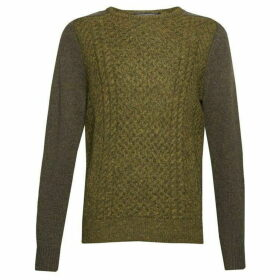 French Connection Mohair Cable Mix Jumper