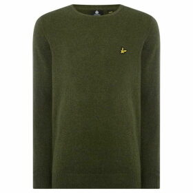 Lyle and Scott Cotton merino Crew Neck Jumper