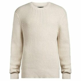 All Saints Kee Chunky Waffle Knit Jumper