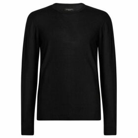 All Saints Lang Merino Crew Neck Jumper