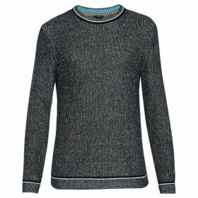 Ted Baker Roknrol Plaited Rib Crew Neck Jumper