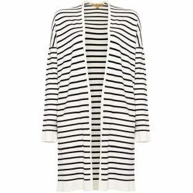 Phase Eight Sonya Stripe Longline Cardigan