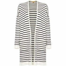 Phase Eight Sonya Stripe Longline Cardigan