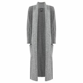Crea Concept Long length cardigan with pockets