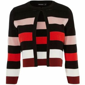 Karen Millen Striped Cardigan