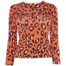 Karen Millen Leopard Cardigan