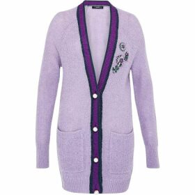 Hallhuber Intricately Embellished Mohair Cardigan