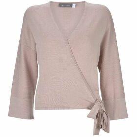 Mint Velvet Blush Ballet Wrap Cardigan